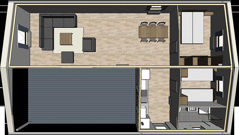 Voorbeeld Bestek Badkamer : Chalet carlington een vorstelijke chalet voorzien van luxe arcabo