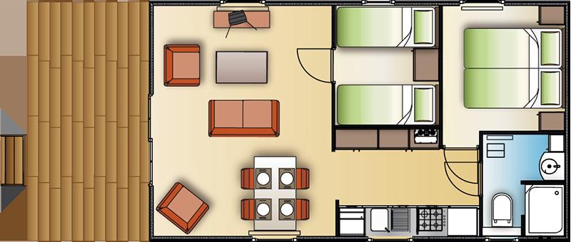 Chalet Lodge voorbeeld 1