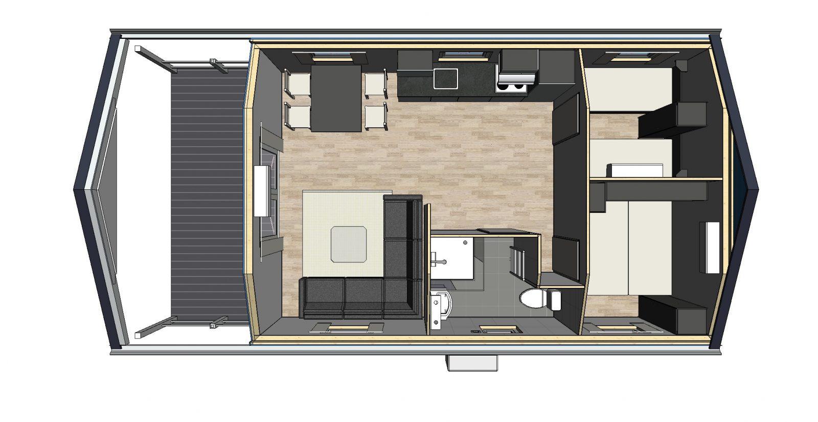 Chalet Lodge voorbeeld 3
