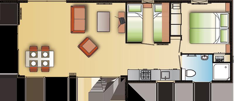 Chalet Newbay voorbeeld 1