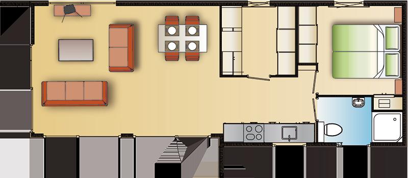 Chalet Newbay voorbeeld 3